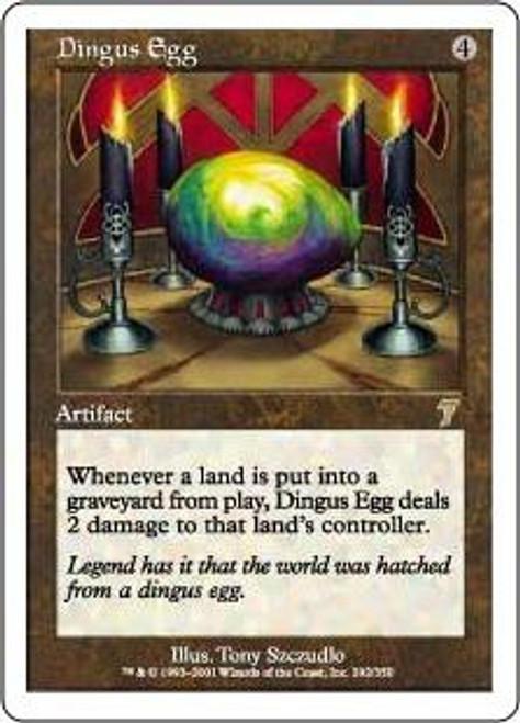 MtG 7th Edition Rare Dingus Egg #292
