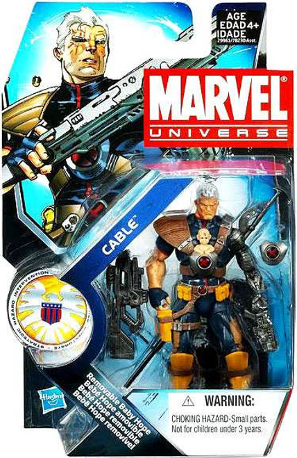Marvel Universe Series 13 Cable Action Figure #7 [With Baby Hope]