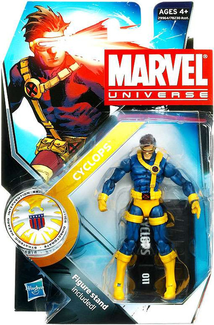 Marvel Universe Series 13 Cyclops Action Figure #10 [Jim Lee Version]
