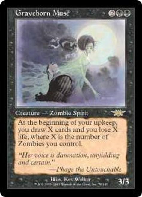 MtG Legions Rare Graveborn Muse #73