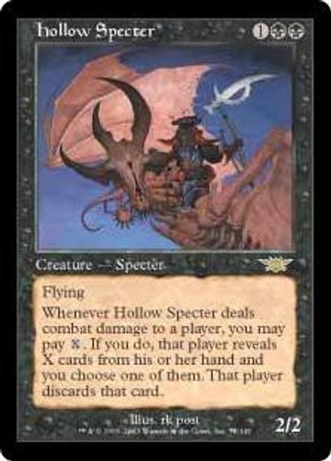 MtG Legions Rare Hollow Specter #75