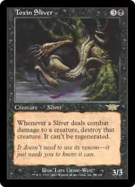 MtG Legions Rare Toxin Sliver #84