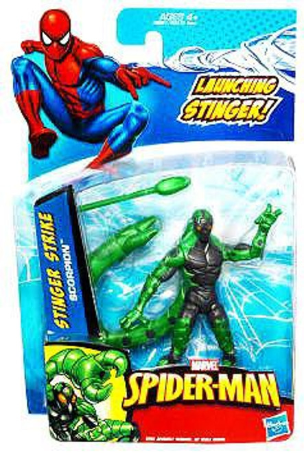 Spider-Man 2010 Stinger Strike Scorpion Action Figure