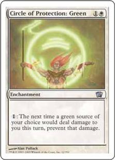 MtG 8th Edition Uncommon Circle of Protection: Green #12