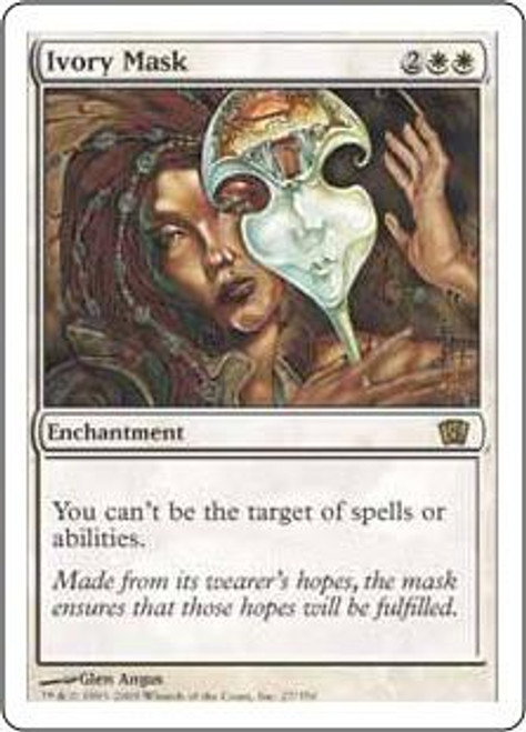 MtG 8th Edition Rare Ivory Mask #27