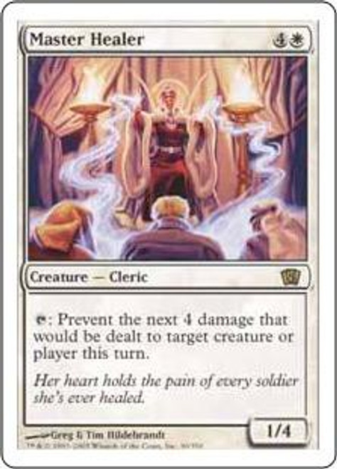 MtG 8th Edition Rare Master Healer #30