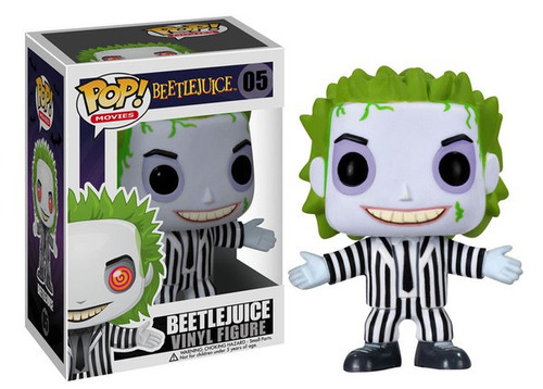 Funko POP! Movies Beetlejuice Vinyl Figure #05 [Regular Version]