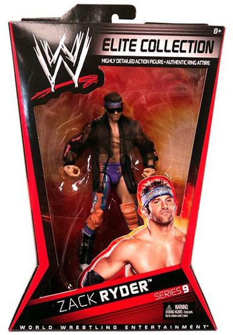 WWE Wrestling Elite Collection Series 9 Zack Ryder Action Figure