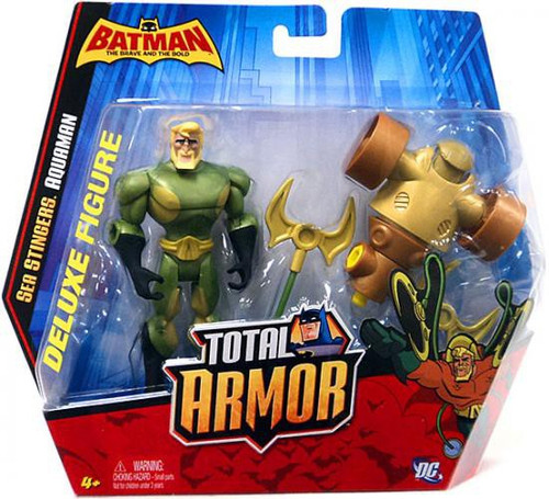 Batman Brave and the Bold Total Armor Aquaman Figure Set [Sea Stingers]