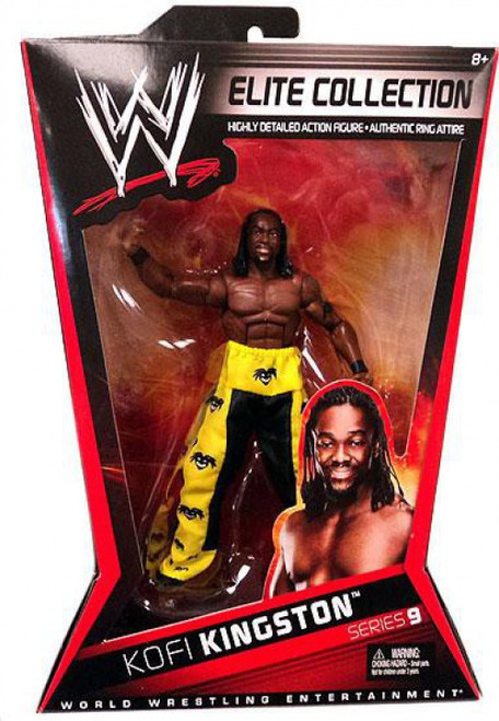 WWE Wrestling Elite Collection Series 9 Kofi Kingston Action Figure