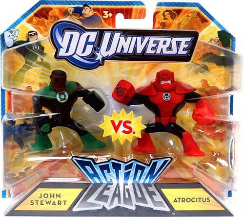 DC Universe Action League John Stewart Vs. Atrocitus 3-Inch Mini Figures