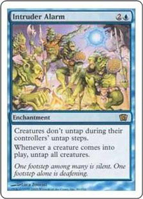 MtG 8th Edition Rare Intruder Alarm #86