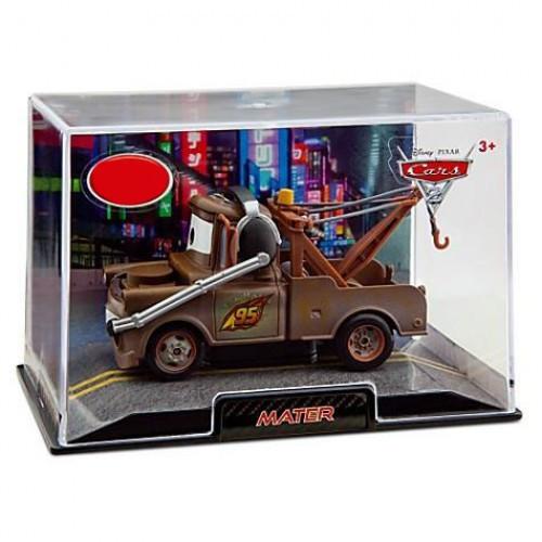 Disney / Pixar Cars Cars 2 1:43 Collectors Case Race Team Mater Exclusive Diecast Car [Headset]