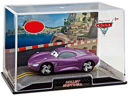 Disney / Pixar Cars Cars 2 1:43 Collectors Case Holley Shiftwell Exclusive Diecast Car