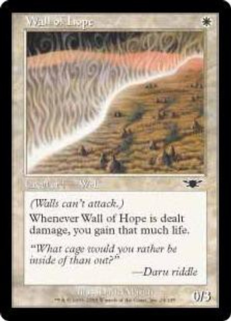 MtG Legions Common Wall of Hope #24