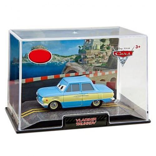 Disney / Pixar Cars Cars 2 1:43 Collectors Case Vladimir Trunkov Exclusive Diecast Car