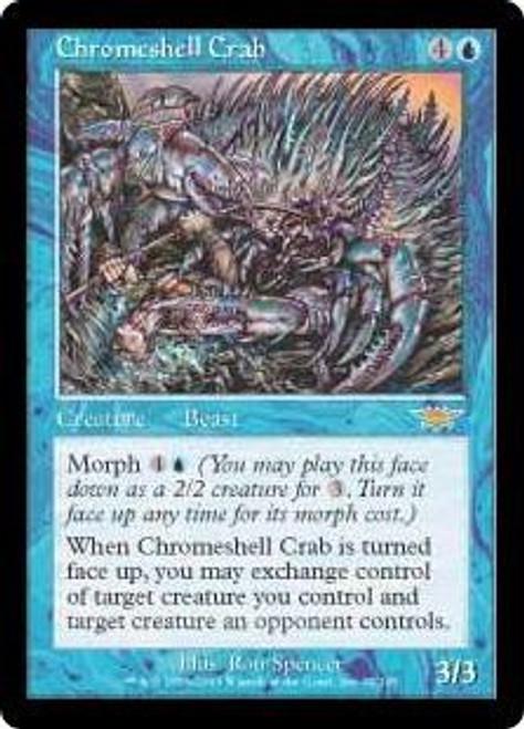 MtG Legions Rare Chromeshell Crab #32