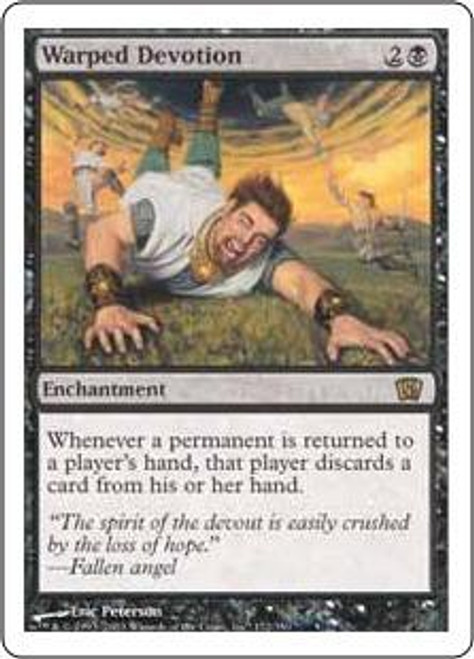 MtG 8th Edition Rare Warped Devotion #172