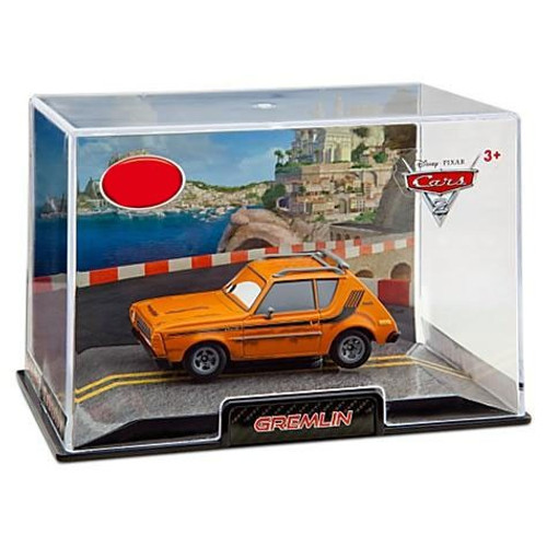 Disney / Pixar Cars Cars 2 1:43 Collectors Case Gremlin Exclusive Diecast Car