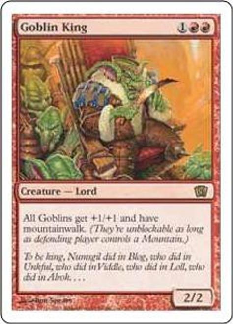 MtG 8th Edition Rare Goblin King #190