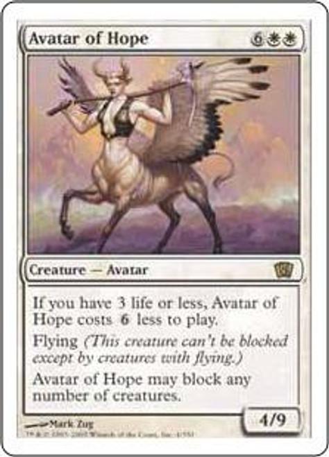 MtG 8th Edition Rare Avatar of Hope #4