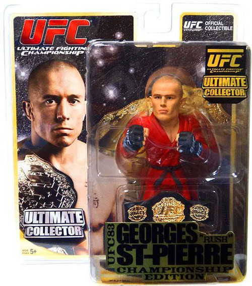 UFC Ultimate Collector Series 8 Georges St Pierre Action Figure [Championship Edition]