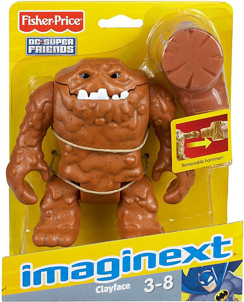 Fisher Price DC Super Friends Imaginext Clayface 3-Inch Mini Figure