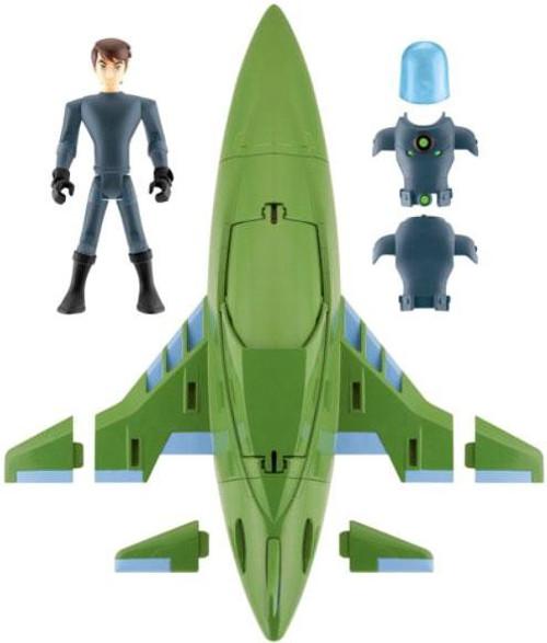 Ben 10 Ultimate Alien Rustbucket III Action Figure Vehicle
