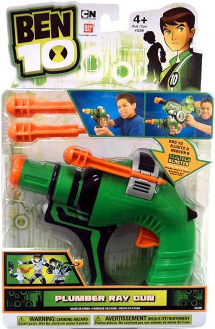Ben 10 Tech Gear Plumber Ray Gun Roleplay Toy