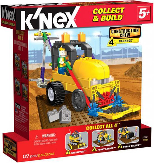 K'Nex Construction Crew Backhoe Set #11564