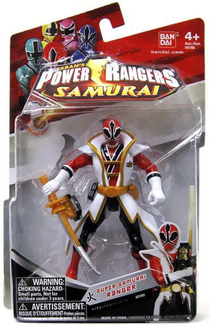 Power Rangers Super Samurai Ranger Fire Action Figure