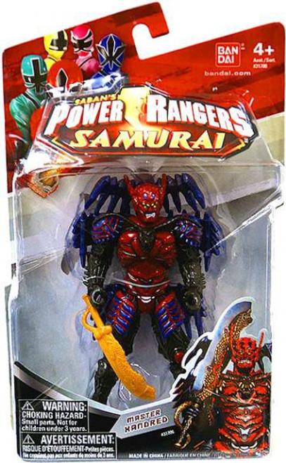 Power Rangers Samurai Master Xandred Action Figure