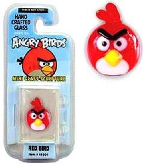 Angry Birds Red Bird 1-Inch Glass Mini Figure