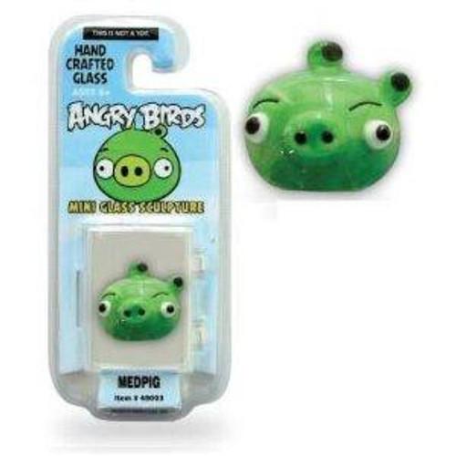 Angry Birds Medpig 1-Inch Glass Mini Figure