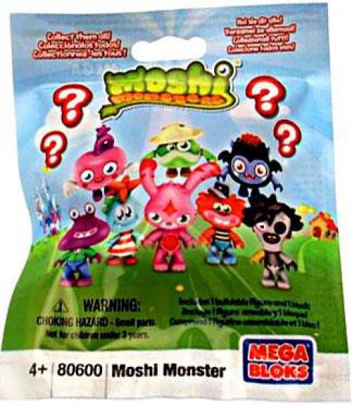 Mega Bloks Moshi Monsters Mini Figure Series 1 Mystery Pack #80600