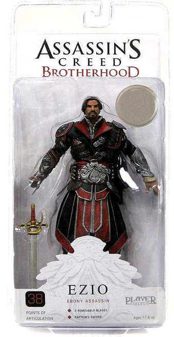 NECA Assassin's Creed Brotherhood Ezio Exclusive Action Figure [Ebony Assassin]