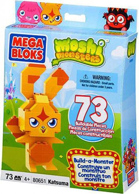 Mega Bloks Moshi Monsters Build-a-Monster Katsuma Set #80651