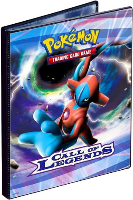 Ultra Pro Pokemon Trading Card Game Call of Legends Portfolio [Deoxys]
