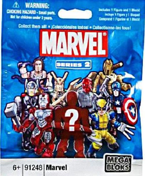 Mega Bloks Marvel Series 2 Minifigure Mystery Pack