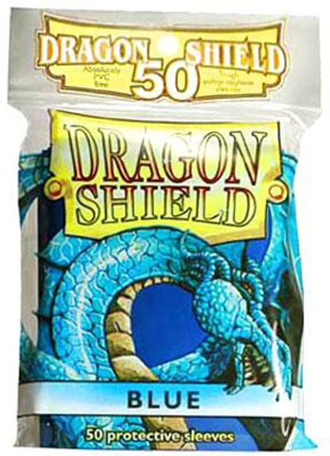 Card Supplies Dragon Shield Blue Standard Card Sleeves [50 Count]