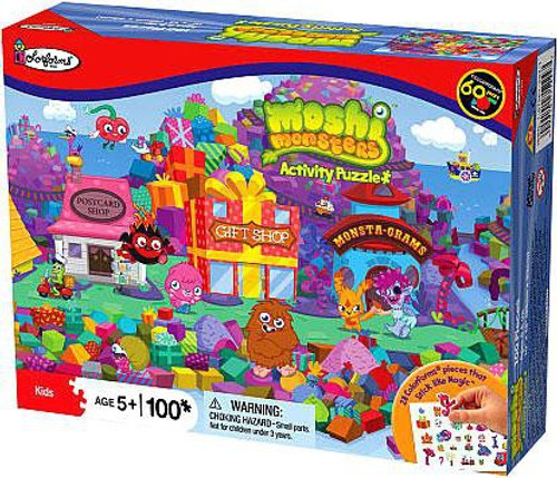 Moshi Monsters Colorforms Gift Island Puzzle [100 pieces]