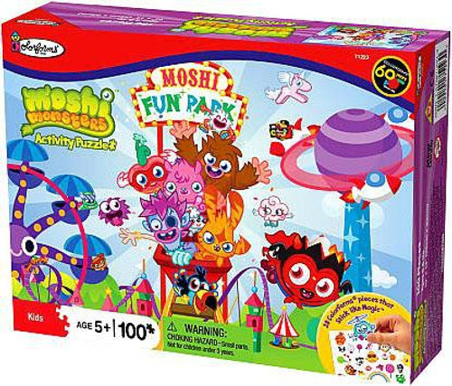 Moshi Monsters Colorforms Roller Coaster Puzzle [100 pieces]