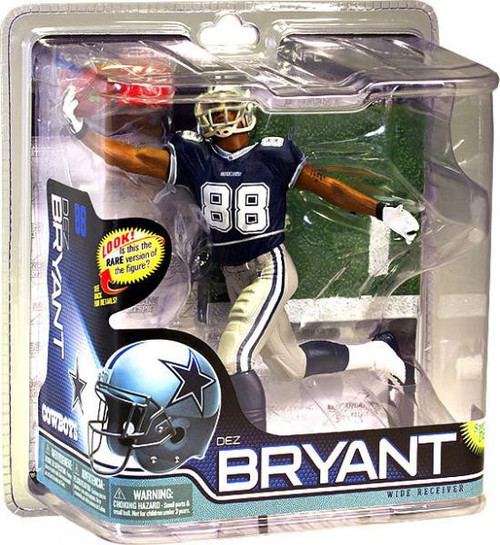 McFarlane Toys NFL Dallas Cowboys Sports Picks Series 28 Dez Bryant Action Figure [Blue Jersey]