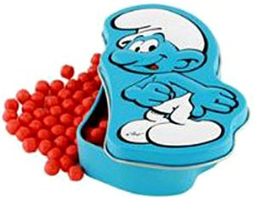The Smurfs Smurfberries Candy Tin [Smurf Cover Design]