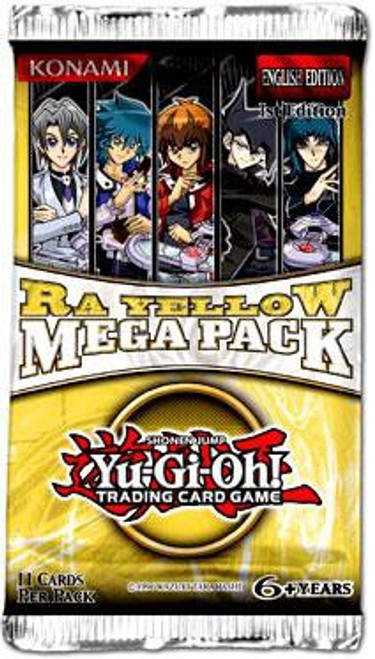 YuGiOh Trading Card Game Ra Yellow Booster MEGA Pack [11 Cards]