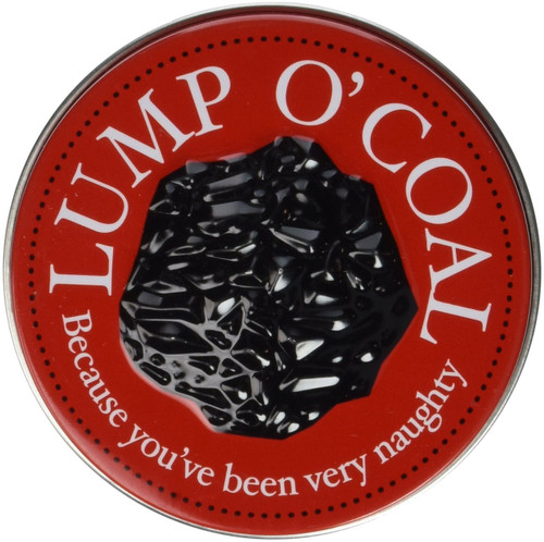 Candy Lump O' Coal Candy Tin [Coal Shaped Gum]