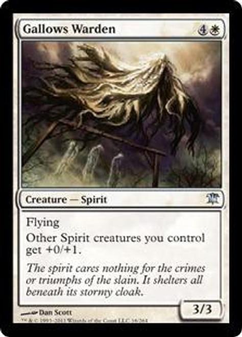 MtG Innistrad Uncommon Gallows Warden #16