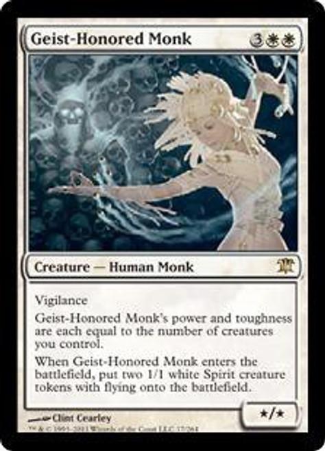 MtG Innistrad Rare Geist-Honored Monk #17