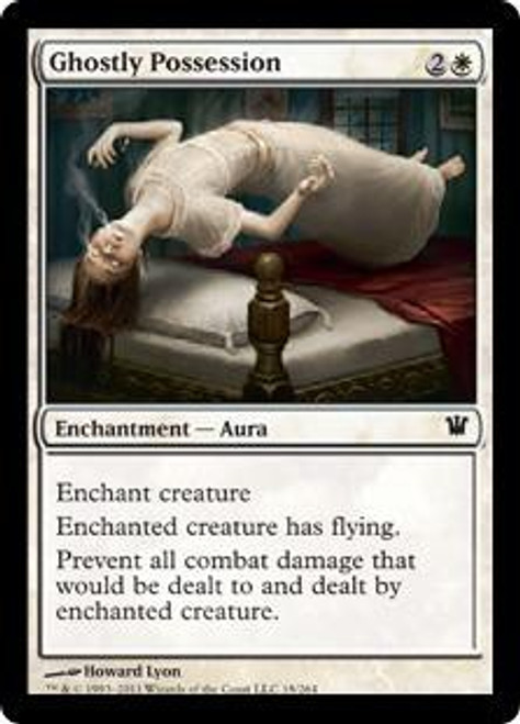 MtG Innistrad Common Ghostly Possession #18