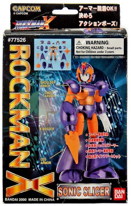 Mega Man X Mega Armor Series Sonic Slicer Model Kit [Damaged Package]